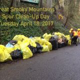 Great Smoky Mountains Spur Clean-Up Day