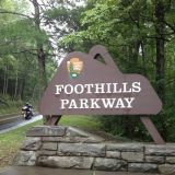 Great Smoky Mountains National Park Foothills Parkway Hiking Event
