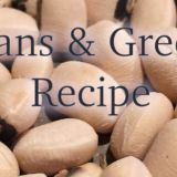 New Year Beans And Greens Recipe