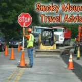 Smoky Mountain Paving Project Slows Traffic