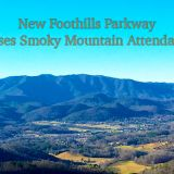 New Foothills Parkway Raises 2018 National Park Visitation