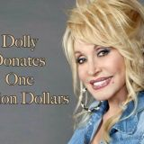Dolly Parton Corona Virus Cure Donation