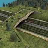 Smoky Mountain Interstate Wildlife Crossing