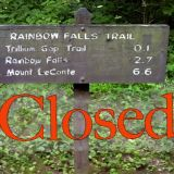 Rainbow Falls Trail Closed for Bridge Replacement