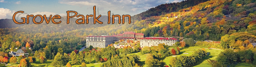 The Grove Park Inn in Asheville is a hidden jewel!